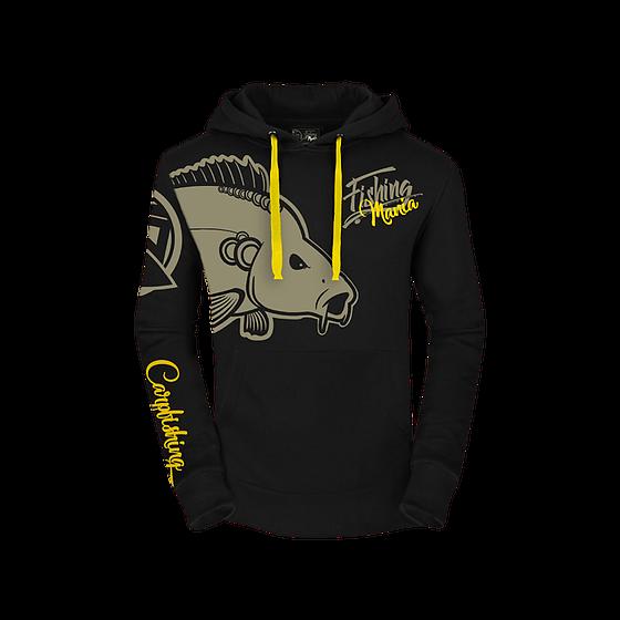 Angel-Sweater Hotspot Design Hoodie Fishing Mania Carpfishing Angler-Pullover