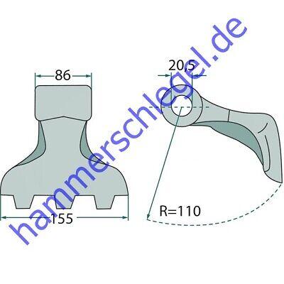 Y-Messer NOB-05 für Mulcher Kuhn Fehrenbach OMARV Nobili Mörtl 606.0004 27781