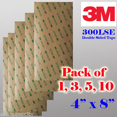 3M 300LSE Double Sided Transparent  Adhesive Sheet Tape Cell Phone LCD Repair 4
