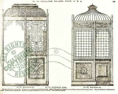 Mullins 1897 Architectural Metal Work CATALOG store fronts ornament grill vanes 11