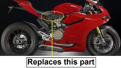 Ducati 1199 S R Panigale Subframe Under Seat Tank Side Panels Matte
