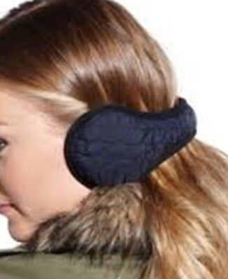 BRAND NEW SEALED 180s EAR WARMERS BLACK OR WHITE UNISEX FANTASTIC QUALITY