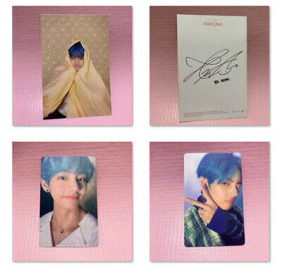 BTS Bangtan Boys V Official Photocard MAP OF THE SOUL:PERSONA Photo Card Only 5