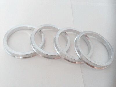 4 Hub centric rings Aluminum Hubrings 69.85mm Wheels to 59.2mm Car Hub