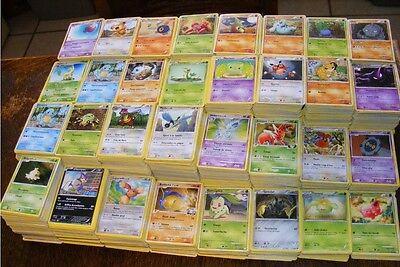 Enorme lot de 150 cartes POKEMON sans double Françaises Cadeau--Jeu Concours !