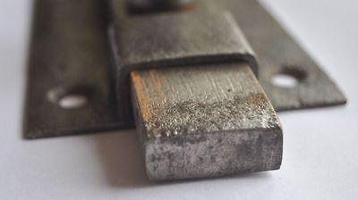 1900s Imperial Russia Interesting Solid Metal Slide Door Lock NICE 2