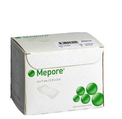 MEPORE Adhesive Surgical Dressing 6cm x 7cm Pick Your Quantity 10-20-40-60 2
