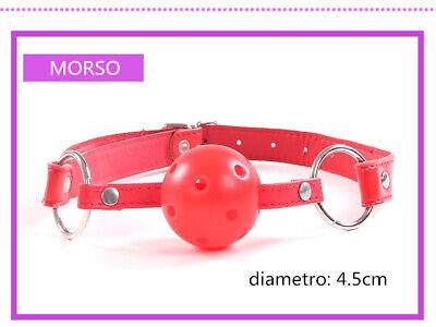 Set Kit 8 Pezzi Slave Costrittivo Slave Manette Morso Frusta Mascherina Pinze 4
