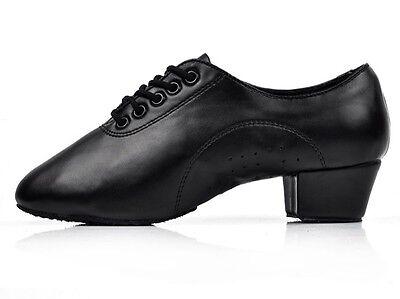 Brand New Adult Children Men/'s Ballroom Latin Tango Dance Shoes Salsa heeled 211