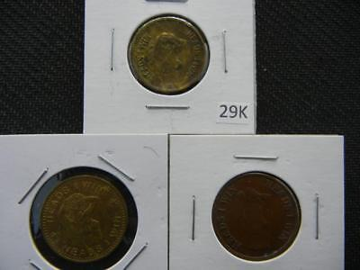 3 Heads I win Tails You Lose Tokens Lot 29K