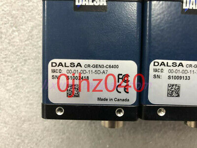 1PC used DALSA CR-GEN3-C6400 Industrial black and white camera tested 2