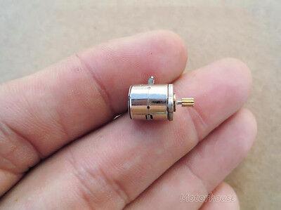 10pcs mini Micro Small 8x9.5mm 2-phase 4-wire stepper motor with copper gear 4