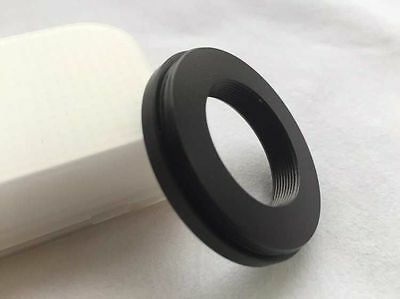 RMS to M49 Converter  for microscope objective flat to 49mm Camera Filter 3