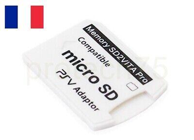 SD2 Vita  adaptateur carte mémoire micro SD TF Carte pour PS vita PSV 1000 v5.0 5
