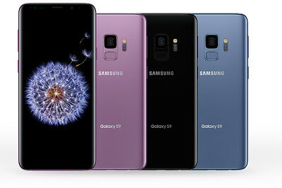 Samsung Galaxy S9 G960U G960U1 GSM Unlocked AT&T Cricket T-Mobile Verizon 3