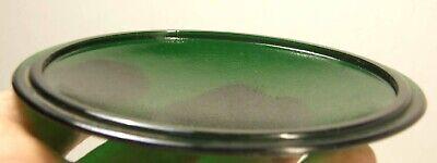 vintage Kopp Green Glass Railroad Lantern Signal Lens Bulls Eye 4 1//8 D 2 3//4 F