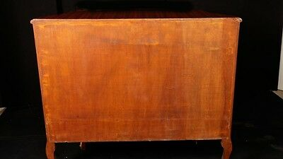 Pair French Empire Cabinets Chests Marquetry Inlay 12