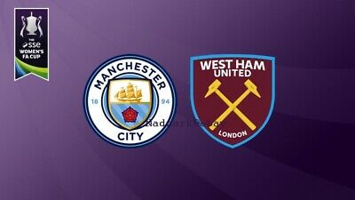 2019 Women's Fa Cup Final Manchester Man City v West Ham United Utd May 04/05/19 4