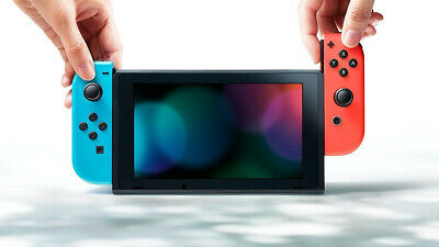 Nuovo Nintendo Switch V2 1.1 Console Blue/Red Portatile Touchscreen Italia 2019 3