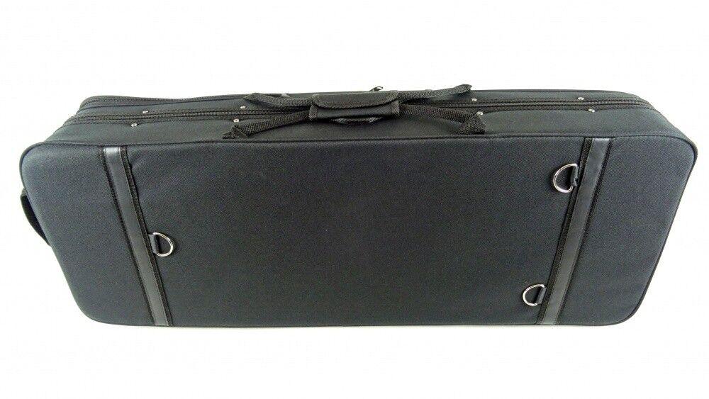 Petz Hardschaum Cello 4//4 Case Koffer Etui Gepolstert Rucksacksystem Blau 5kg