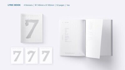 BTS MAP OF THE SOUL : 7 Album CD+Book+M.Book+Lyric+P.Card+Post+Sticker+F.Poster 4