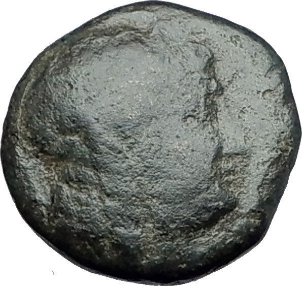 ANTIOCHOS III Megas 222BC RARE R1 Ancient Greek SELEUKID King Coin APOLLO i62197 2