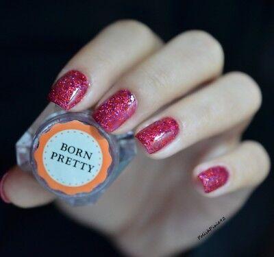 Nail Art Sugar Sandy Glitter Powder Dust Decoration Nail Tips DIY Born Pretty 11