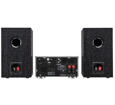 Jvc Ux-D100 70W Micro Hifi Stereo Valve Amp Dab Cd Wireless Bluetooth Nfc Usb
