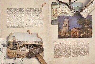 Livre Pirates Des Caraibes Disneyland Paris 50 Ans FR&EN Neuf Sealed SOLD OUT 4