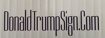 2 Trump 2020...KEEP AMERICA GREAT!.. Campaign...Yard Signs + 4 Decals 2