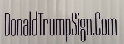 Trump 2020...Keep America Great ! ...Campaign.. Yard Sign with Stake + 2 Decals 4