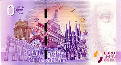 98 MONACO Cathédrale 2, N° de la 7ème liasse, 2019, Billet 0 € Souvenir 2