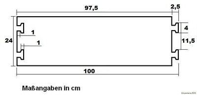 3 x 1 Kanal PKW LKW Überfahrschutz ECO Kabelbrücke Kabelschutz Kabelkanal Rampe