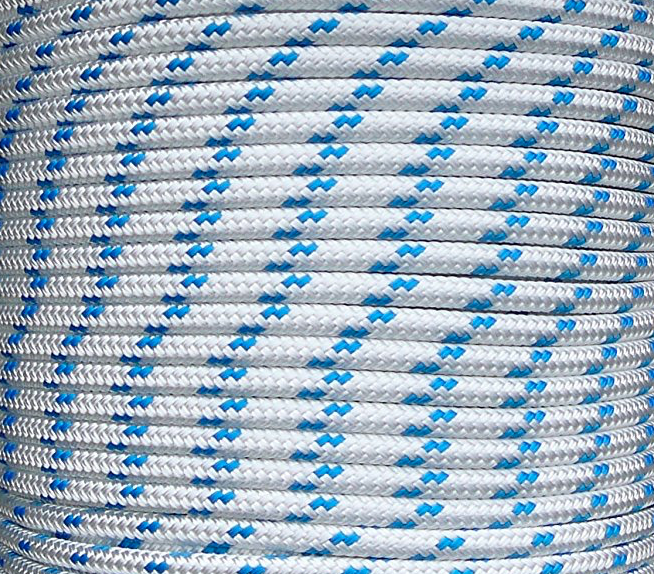 Double Braid Polyester Marine Sailing General Purpose Yacht Rope 6mm 8mm