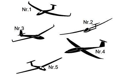 Flugzeug Aufkleber Auto und Wandtattoo Pilot Motor Flieger Decal Sticke 151//8