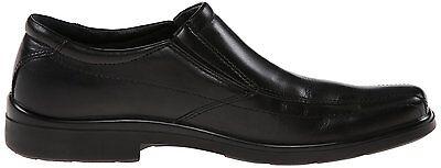 Hush Puppies Men/'s H10867 Rainmaker Black Leather Slip-On Loafer