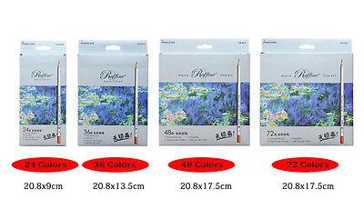 Marco 24-72 Color Pencil Set Raffine Fine Art Drawing Pencils Oil Base Non toxic