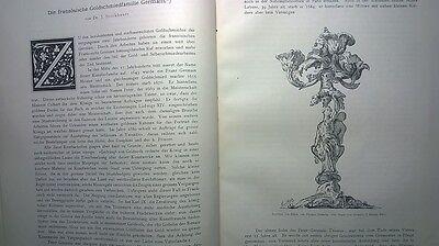 1887 7 Kunstgewerbe Plaketten der Renaissance Goldschmiede Germain 7