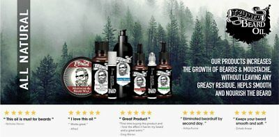 #1 Beard Growth Oil From TruMen for Thicker, Softer and Healthy Hair. 6