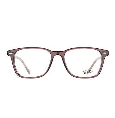 0ac85781a3 ... NEW RAY BAN RB7119 8023 UNISEX OPAL GREY BROWN Rx EYEGLASSES FRAME  53-18-