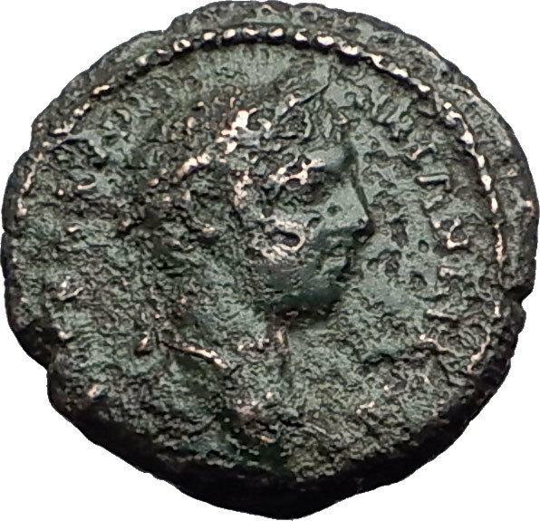 Elagabalus 218AD Marcianopolis FIRE TORCH Authentic Ancient Roman Coin i59529 2