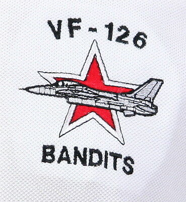 US Navy VF-126 Bandits nametag Patch Adversary Aggressors Top Gun A-4 Skyhawk