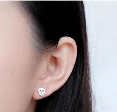 925 Sterling Silver Plated 3 Star Stud Earrings Ear Jewellery Women Small Animal 4