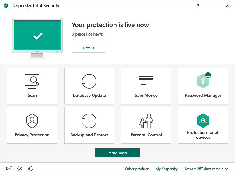 Kaspersky Total Security 2019 10 Devices 1 year PC/Mac/Android UK VAT EMAILED 2