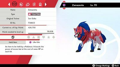 Pokemon MEW + ZAMAZENTA + ZACIAN 6iv niveau 100 (épée/bouclier) 4