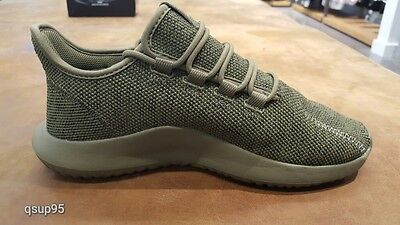 33e521dc494b ... Adidas Tubular Shadow Knit Olive Cargo Green Mens BY3708 Size 8-13 New 2