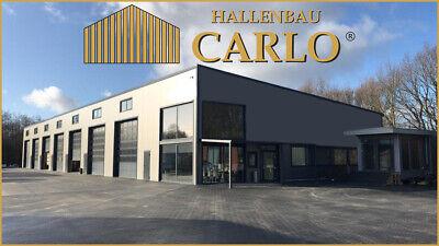 Logistikhalle Produktionshalle Werkstatt Gewerbehalle Stahlhalle 30x65x8 Halle 4