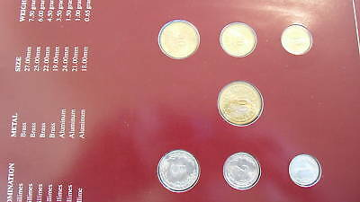 Coin Sets of All Nations Tunisia wcard UNC 5,20,50,100 Millimes 1983 1,2,10 1960 2