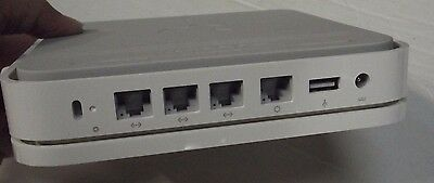 Genuine Apple A1143 AirPort Extreme Base Station 4Port 802.11n Wireless Wi-Fi