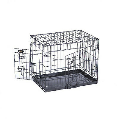 Dog Cage Puppy Training Crate Pet Carrier - Small Medium Large Xl Xxl Cages 4